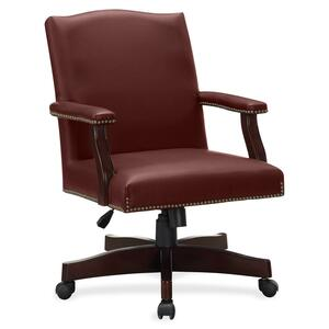 Lorell Traditional Executive Bonded Leather Chair LLR68251