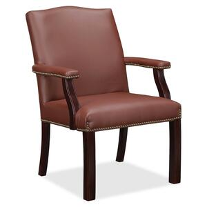 Lorell Bonded Leather Guest Chair LLR68253