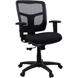 Lorell Managerial Mesh Mid-back Chair LLR86209