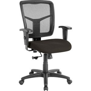 Lorell Managerial Mesh Mid-Back Chair LLR8620904