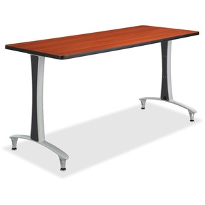 Safco Cherry Rumba Training Table w T-legs/Glides SAF2095CYSL