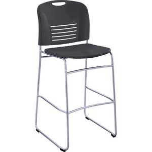 Safco Vy Sled Base Bistro Chair SAF4295BL