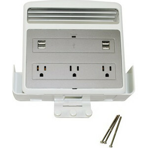 Wiremold USB/Multi-Outlet Charging Station