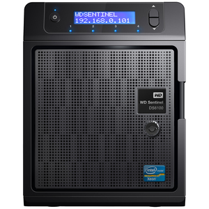 WD Sentinel DS6100 12TB Ultra-compact Storage Plus Server (WDBWVL0120KBK-NESN)