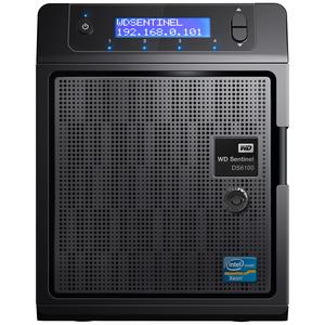 WD Sentinel DS6100 8TB Ultra-compact Storage Plus Server (WDBWVL0080KBK-NESN)