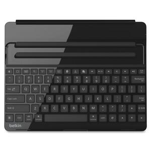 Belkin Keyboard/Cover Case for iPad - Black BLKF5L141BLKSLV