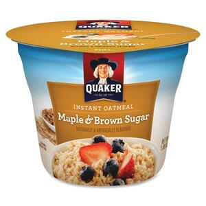 Quaker Oats Foods Instant Brown Sugar Oatmeal Cups QKR26585