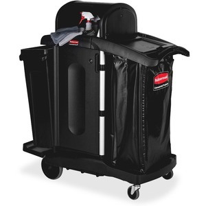 High Security Executive Janitor Cleaning Cart