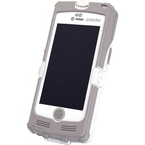 Code CR4405 iPhone 5 Sled Bar Code Reader Light Gray Battery USB Cable