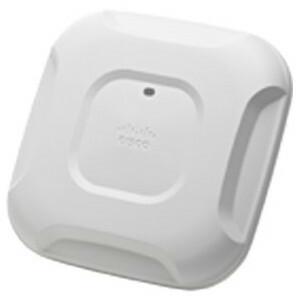 Cisco AIR-CAP3702P-A-K9 Aironet 3700 Dual-band controller-based 802.11a/g/n/ac Wireless Access Point with narrow-beamwidth, high-gain, antennas