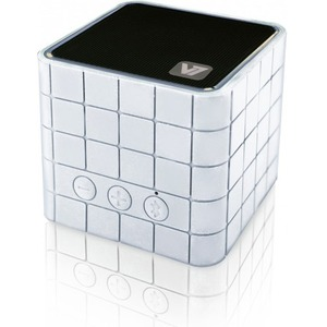 V7 Mobile Bluetooth Speaker 2W - White