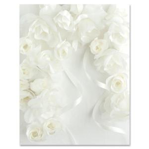 Classic Bouquet Design Bond Paper