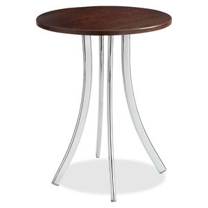 Decori Wood Side Table, Tall