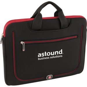 "TRG Resolution Carrying Case (Sleeve) for 13"" MacBook Pro, MacBook Air - Black/Red - Scratch Resistant"