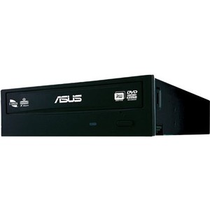"Asus DRW-24F1ST Internal DVD-Writer - 10 x Bulk Pack - DVD-RAM/±R/±RW Support - 48x CD Read/48x CD Write/24x CD Rewrite - 16x DVD Read/24x DVD Write/8x DVD Rewrite - Double-layer Media Supported - SATA - 5.25"" - 1/2H"