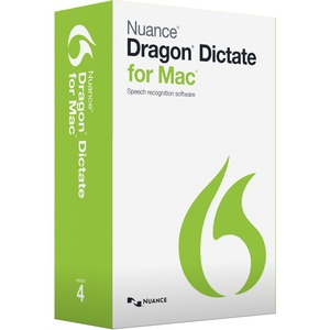 Nuance Dragon Dictate v.4.0 - Complete Product - 1 User - Voice Recognition - Academic Retail - DVD-ROM - Intel-based Mac - English