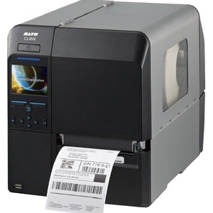 Sato CL408NX Barcode Printer 203DPI 10IPS SERIAL/PARALLEL/ETHERNET/USB/BLUETOOTH/WLAN Interface