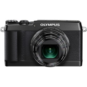 "Olympus Stylus SH-1 16MP 1/2.3"" Bsi CMOS Sensor 25-600MM Digital Camera - Black"
