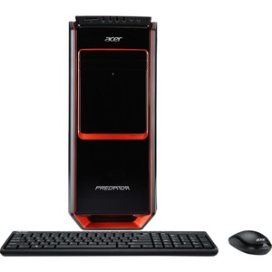 Acer Aspire Predator G3605 Desktop Computer - Intel Core i7 i7-4770 3.40 GHz - 12 GB RAM - 2 TB HDD - DVD-Writer - NVIDIA GeForce GTX 760 - Windows 8.1 64-bit - Wireless LAN - Bluetooth