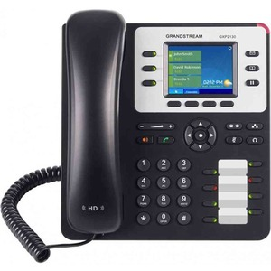 GRANDSTREAM 3-LINE HD IP PHONE W/POE WITH COLOR LCD. V2 with BT functionality