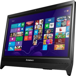 "Lenovo C260 All-in-One Computer - Intel Pentium J2900 2.41 GHz - Desktop - Black - 4 GB RAM - 500 GB HDD - DVD-Writer - Intel HD Graphics - Windows 8.1 64-bit - 19.5"" Touchscreen Display - Wireless LAN"