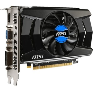 MSI N740-2GD5 GeForce GT 740 Graphic Card - 1006 MHz Core - 2 GB GDDR5 SDRAM - PCI Express 3.0 x16 - 5000 MHz Memory Clock - 4096 x 2160 - DirectX 12, OpenGL 4.4 - HDMI - DVI - VGA