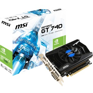 MSI N740-2GD3 GeForce GT 740 Graphic Card - 1006 MHz Core - 2 GB DDR3 SDRAM - PCI Express 3.0 x16 - 1782 MHz Memory Clock - 4096 x 2160 - DirectX 12, OpenGL 4.4 - HDMI - DVI - VGA
