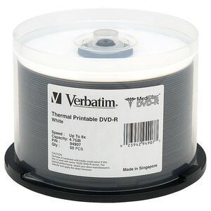 Verbatim 8x MediDisc DVD-R Media