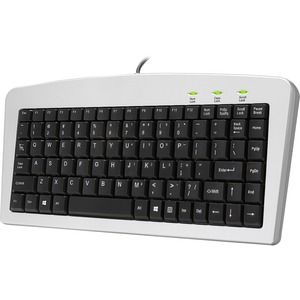 Adesso 88 Key Mini Keyboard USB PS/2