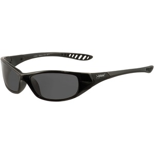 Kimberly-clark Corporation Jackson Safety V40 Hellraiser Safety Eyewear - Lightweight, Flexible, Comfortable, Impact Resistant - Ultraviolet Protection - Polycarbonate Lens - Smoke, Black - 1 Each