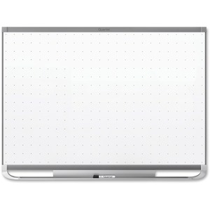 Acco Brands Corporation Quartet® Prestige® 2 Total Erase®magnetic Whiteboard, 6 X 4, Graphite Finish Frame - 72 (6 Ft) Width X 48 (4 Ft) Height - White Magnetic Surface - Graphite Frame - Horizontal - 1 Each