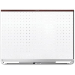 Acco Brands Corporation Quartet® Prestige® 2 Total Erase®magnetic Whiteboard, 8 X 4, Mahogany Finish Frame - 96 (8 Ft) Width X 48 (4 Ft) Height - White Magnetic Surface - Mahogany Frame - Horizontal - 1 / Each