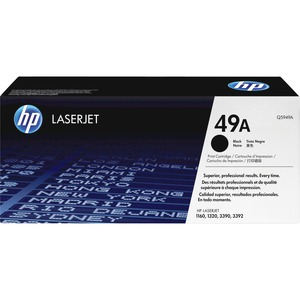 HP 49A Black Original LaserJet Toner Cartridge HEWQ5949A