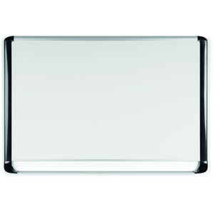 Bi-silque S.a Mastervision Mvi Platinum Plus Dry-erase Board - 36 (3 Ft) Width X 24 (2 Ft) Height - White Porcelain Surface - Silver/black Aluminum/plastic Frame - Rectangle - Assembly Required - 1 Each