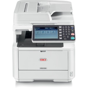 Oki MB492 MFP (42PPM) 120V (E/F/P/S) Multifunction Printer