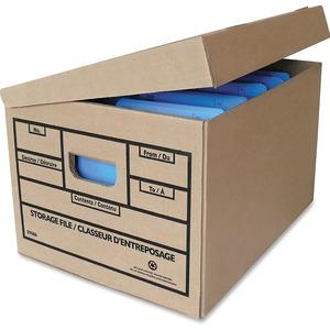 Attached Lid Storage Box