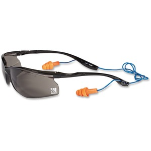 Earplug Cord System Safety Glasses