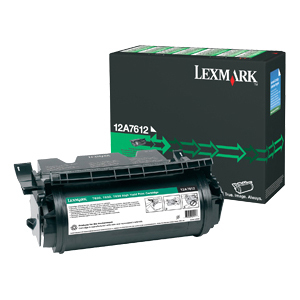 Lexmark High Yield Factory Reconditioned Print Cartridge LEX12A7612