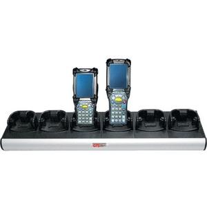 GTS Batteries Motorola MC90XX & MC91XX G&K Charger 6 Bay Cradle Power Supply Included OEM P/N CH