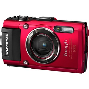 Olympus TG4 Digital Camera Red