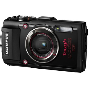 Olympus TG4 Digital Camera Black