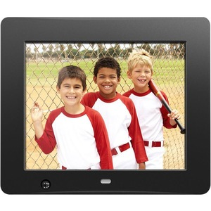 Aluratek 8 inch Digital Photo Frame with Motion Sensor and 4GB Built in Memory.