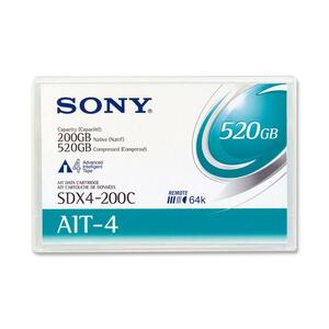 Sony AIT-4 Tape Cartridge SONSDX4200CWW