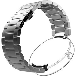 Motorola MOTO360 23MM Metal Watch Band Natural Silver