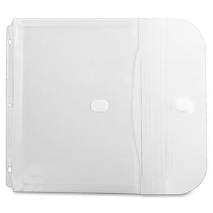 Binder Pocket, Side Loading, Clear, 5/PK