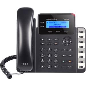 GRANDSTREAM GXP1628 - IP Telephone - 132 x 48 backlit graphical LCD Display - 2 line keys wi