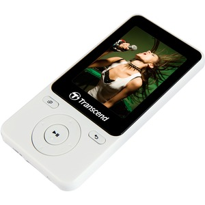 TRANSCEND MP3 PLAYER 710 (WHITE) (8GB)