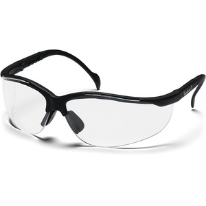 Impact Products Proguard 830 Series Style Line Safety Eyewear - Side Shield, Adjustable Temple, Lightweight, Comfortable - Clear, Black - 1 Each