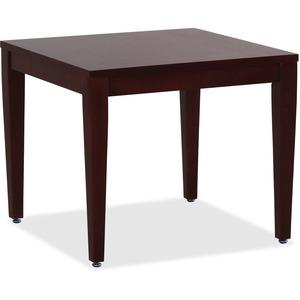Mahogany Finish Solid Wood Corner Table