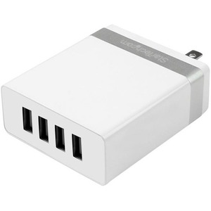 StarTech.com 4-Port USB Wall Charger - 36W/7.2A - White